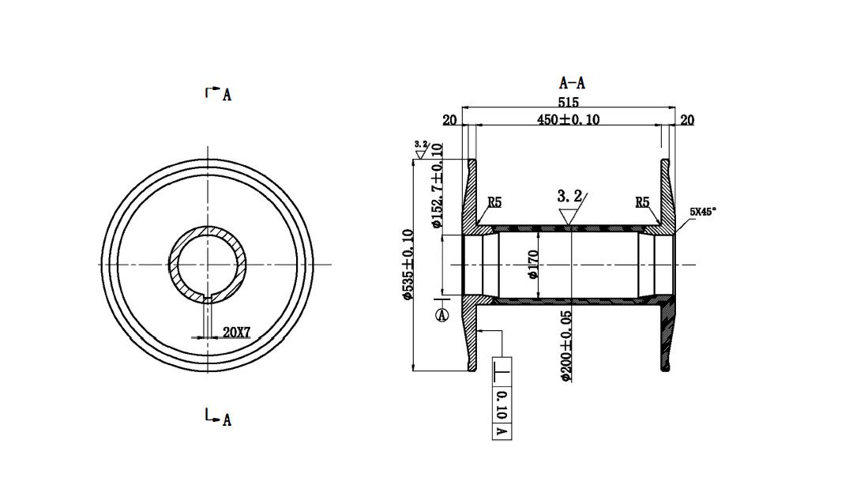 Aluminium- alloy-Beam-for-warp-knitting-machine-2